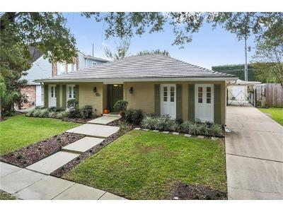 New Orleans LA Single Family Home For Sale: $495,000