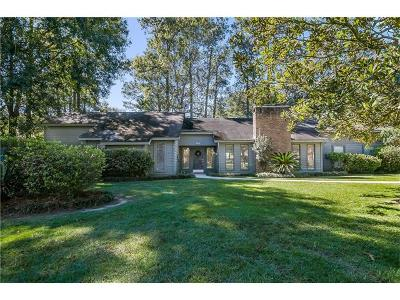 Single Family Home For Sale: 782 Beau Chene Drive