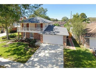 Kenner Single Family Home For Sale: 3309 Cannes Place