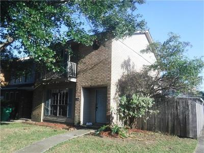 Gretna Townhouse For Sale: 2465 Oxford Place
