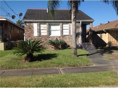 New Orleans Single Family Home For Sale: 4636 Annette Street