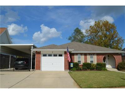 Kenner Single Family Home Pending Continue to Show: 8 Cocodrie Court