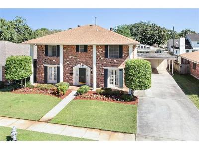 Metairie Single Family Home For Sale: 3909 N Turnbull Drive