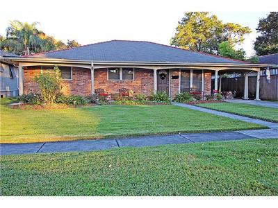 Metairie Single Family Home For Sale: 1217 Orion Avenue