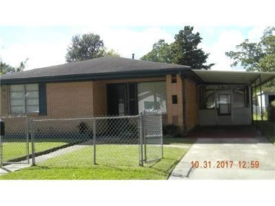 New Orleans Single Family Home For Sale: 7724 Lafourche Street