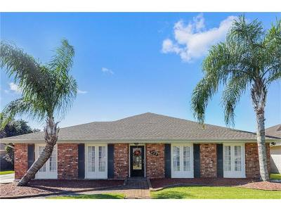 Kenner Single Family Home For Sale: 929 Vintage Drive