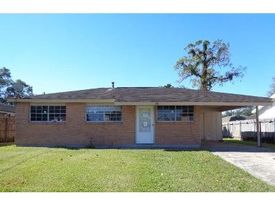 Westwego Single Family Home Pending Continue to Show: 44 Daffodil Lane