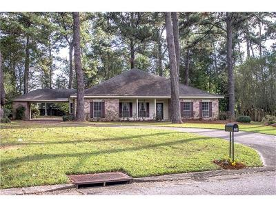 Single Family Home For Sale: 126 Crapemyrtle Circle