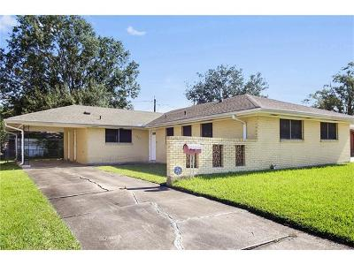 Metairie Single Family Home For Sale: 1801 Hall Avenue