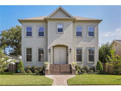 New Orleans LA Single Family Home For Sale: $743,000