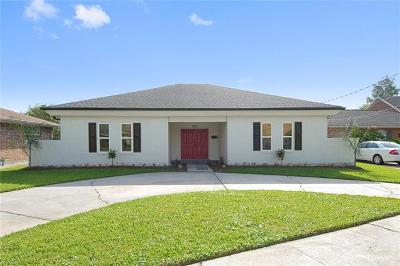 Metairie Single Family Home For Sale: 5201 Burke Drive