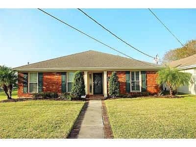 Metairie Single Family Home For Sale: 4813 Ithaca Street