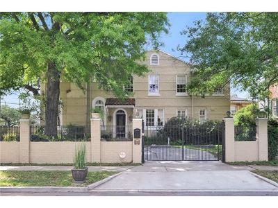 New Orleans Single Family Home For Sale: 2300 Audubon Street