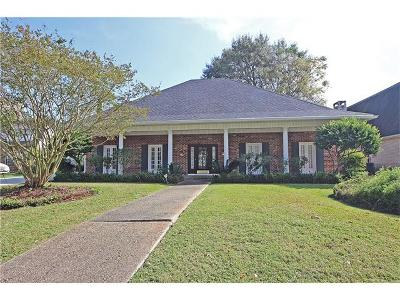 Kenner Single Family Home Pending Continue to Show: 114 Chateau Latour Drive