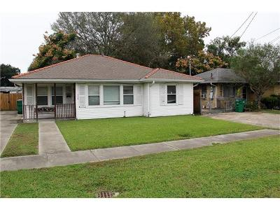 Metairie Single Family Home For Sale: 504 Trudeau Drive
