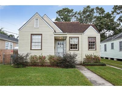 Metairie Single Family Home Pending Continue to Show: 3120 Beaulieu Street