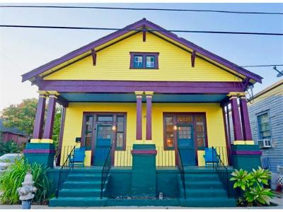 New Orleans Single Family Home For Sale: 1300-1302 Bartholomew Street