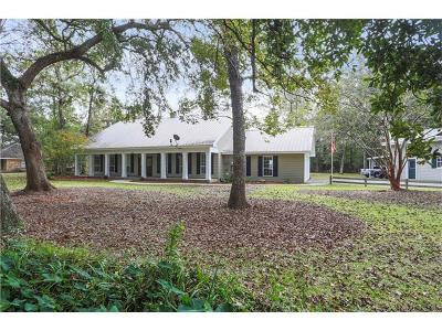 Madisonville Single Family Home For Sale: 911 Old Ponchatoula Highway