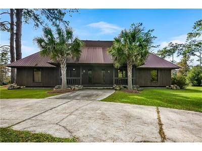 Slidell Single Family Home For Sale: 34489 Torregano Road