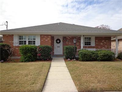 Metairie Single Family Home For Sale: 4712 Bissonet Drive