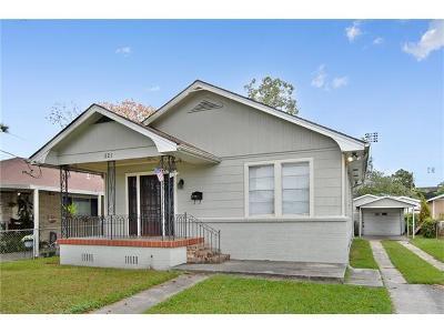 Metairie Single Family Home Pending Continue to Show: 521 Zinnia Avenue