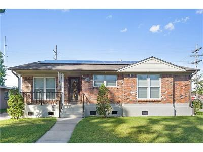 Metairie Single Family Home For Sale: 7001 Gillen Street