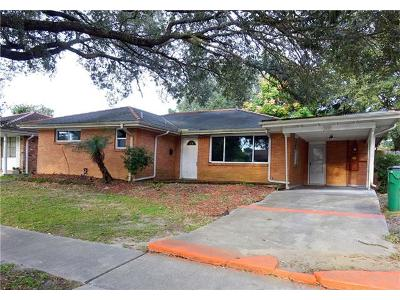 Metairie Single Family Home For Sale: 3017 Green Acres Road