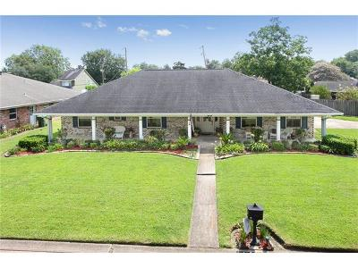 Destrehan Single Family Home For Sale: 43 Edgewood Drive