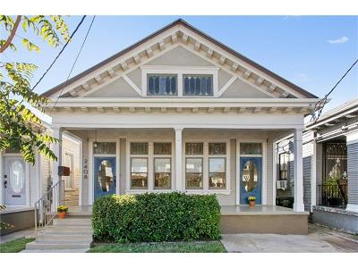 New Orleans Single Family Home For Sale: 2408 Milan Street