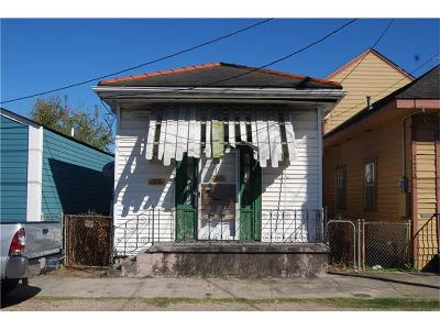 New Orleans Single Family Home For Sale: 2621 N Villere Street