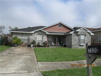 Marrero Single Family Home For Sale: 7320 Gentry Road