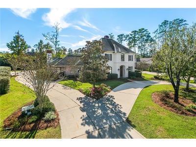 Madisonville LA Single Family Home For Sale: $625,000