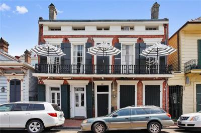 French Quarter Condo For Sale: 911 St Peter Street #3