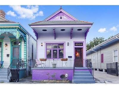 New Orleans Single Family Home For Sale: 3032 N Rampart Street