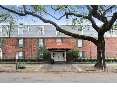 New Orleans Condo For Sale: 3201 St Charles Avenue #118