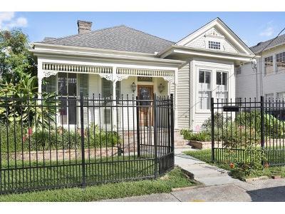 New Orleans Single Family Home For Sale: 3008 Calhoun Street