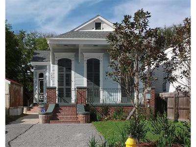 New Orleans Single Family Home For Sale: 1233 N Robertson Street