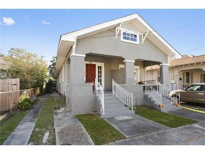 New Orleans Multi Family Home For Sale: 3011 Calhoun Street