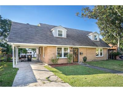 New Orleans Single Family Home For Sale: 1733 Kabel Drive