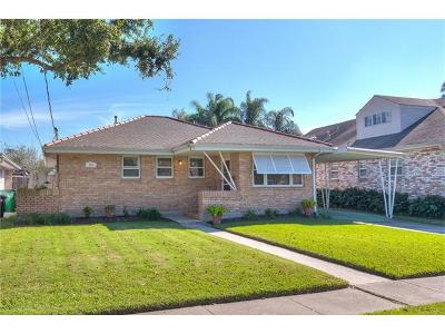 Metairie Single Family Home For Sale: 905 Rosa Avenue