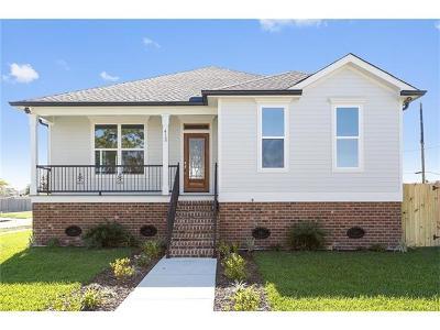 Arabi Single Family Home For Sale: 412 Ocelot Drive