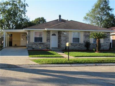 Kenner Single Family Home Pending Continue to Show: 3295 Chateau Boulevard