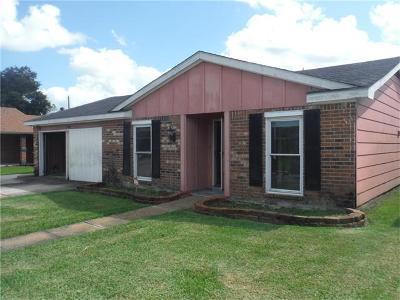 Harvey Single Family Home For Sale: 3861 Irwin Kuntz Drive