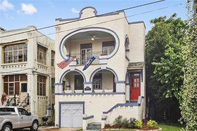 New Orleans Single Family Home For Sale: 3852 Napoleon Avenue