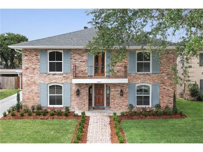 New Orleans Single Family Home For Sale: 4465 Bancroft Drive