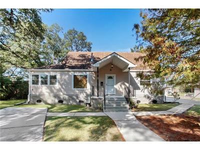 New Orleans Single Family Home For Sale: 210 Fairfax Place