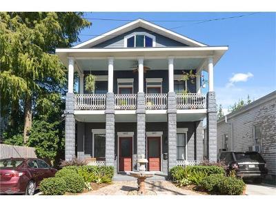 New Orleans Multi Family Home For Sale: 4831 Chestnut Street