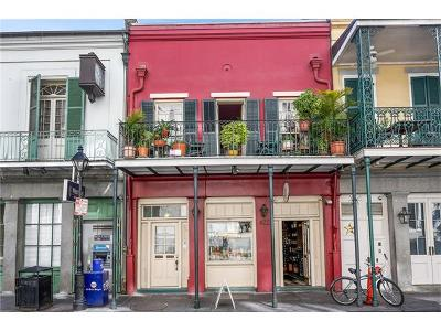 New Orleans Condo For Sale: 422 Chartres Street #201