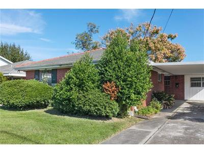 Metairie Single Family Home For Sale: 1425 Wisteria Drive