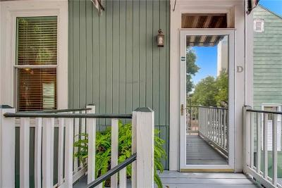 New Orleans Condo For Sale: 2222 Carondelet Street #D
